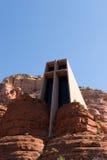 helgedom för arizona kapellkors royaltyfri foto