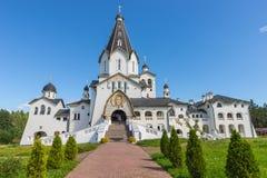 Helgedom-Vladimirdomkyrka Valaam omgestaltningkloster Arkivbild