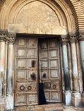 Helgedomen begraver kyrkan, Jerusalem arkivbild