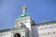 Helgedomportar och porttorn St Sergius Lavra för helig Treenighet Royaltyfria Bilder