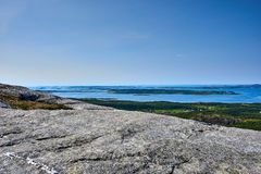 Helgeland - Норвегия Стоковые Изображения RF