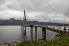 Helgelandsbrug, Sandnessjoen Royalty-vrije Stock Fotografie