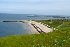 Helgoland海岸  库存图片
