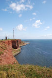 Helgoland. The red cliffs of Helgoland Stock Photo