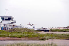 Helgoland Airport Stock Photography