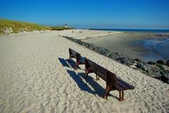 Helgoland - eiland in Duitsland, strand op Duin Royalty-vrije Stock Foto