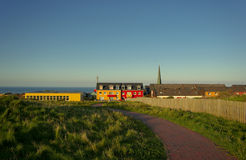 Helgoland - a german beautiful island. 2012 royalty free stock photo