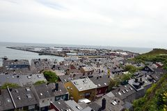 Helgoland Harbour Royalty Free Stock Photo
