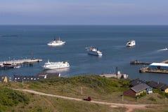Helgoland Island royalty free stock photos