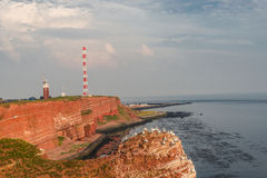 Helgoland - island in North sea, natural resort Stock Images
