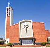 Helgon Benedict Church - Montebello Kalifornien arkivfoton
