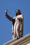 Helgon Clare av Assisi Arkivbild