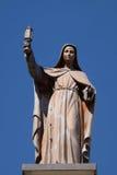 Helgon Clare av Assisi royaltyfri foto