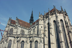 Helgon Elizabeth Cathedral i Kosice, Slovakien Arkivbilder