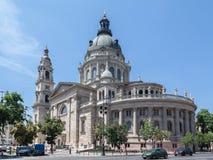 Helgon Esteban Basilica Budapest Hungary Royaltyfri Bild