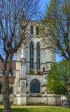 Helgon Etienne Church, Beauvais, Frankrike fotografering för bildbyråer