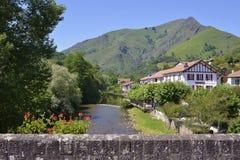Helgon-Etienne-de-Baigorry i Frankrike Fotografering för Bildbyråer