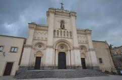 Helgon Filippo Abbey av Agira, Sicilien Royaltyfri Bild