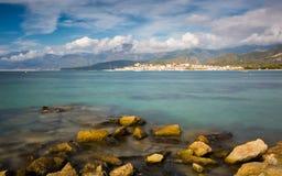Helgon Florent i nordliga Korsika Arkivfoto