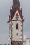 Helgon George Abbey Stein f.m. Rhein Schweiz Arkivbild