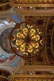 Helgon Isaac Cathedral, St Petersburg, Ryssland Arkivbilder