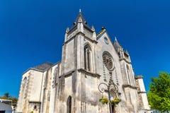 Helgon Jacques Church i Cognac, Frankrike arkivfoto