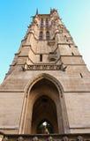 Helgon-Jacques det gotiska tornet, Paris, Frankrike Arkivbilder