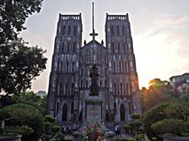Helgon Joseph Cathedral Arkivfoton