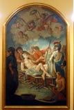 Helgon Lawrence av Rome Arkivbild