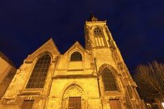 Helgon-Leu kyrka i Amiens Royaltyfria Foton