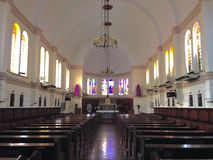 Helgon Mary Chapel Royaltyfria Foton