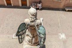 Helgon Michael Archangel royaltyfria foton