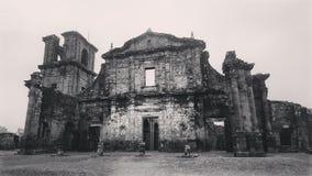 Helgon Michael Archangel Ruins Brazil arkivbild