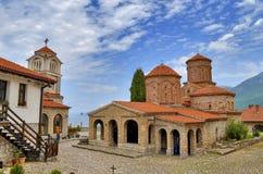 Helgon Naum Monastery, Ohrid, Makedonien Royaltyfria Foton
