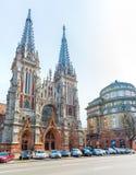 Helgon Nicholas Church i Kiev, Ikraine Royaltyfri Foto