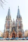 Helgon Nicholas Church i Kiev, Ikraine Arkivbild