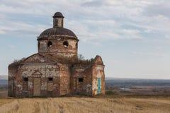 Helgon Nicolas Church, Penza region, Ryssland Fotografering för Bildbyråer