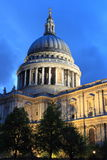 Helgon Paul Cathedral i London Arkivbilder