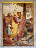 Helgon Paul Leaves Miletus royaltyfri bild
