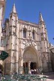 Helgon Peter Church i Avignon, Frankrike Arkivbilder