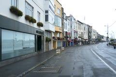 Helgon Peter Port, Guernsey Arkivfoto