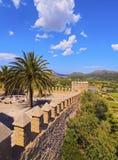 Helgon Salvador Sanctuary i Arta på Majorca Royaltyfri Bild