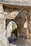 Helgon-Saturnin-les-benägna - Luberon - Provence - Frankrike Fotografering för Bildbyråer
