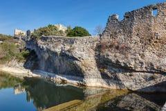 Helgon-Saturnin-les-benägna - Luberon - Provence - Frankrike Royaltyfria Bilder