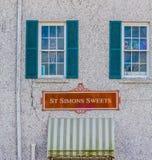 Helgon Simons Sweets royaltyfria foton