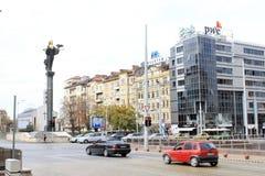 Helgon Sofia Monument Arkivfoto
