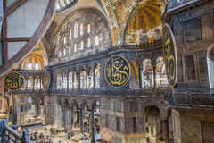 Helgon Sophia - Ayasofya Camii royaltyfri fotografi