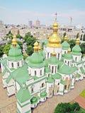 Helgon Sophia Cathedral, Kyiv, Ukraina Arkivbild