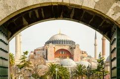 Helgon Sophia i Constantinople Royaltyfri Foto