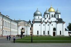 Helgon Sophie Cathedral novgorod russia Arkivbild
